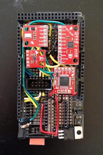 Custom shield for Arduino Mega 2560
