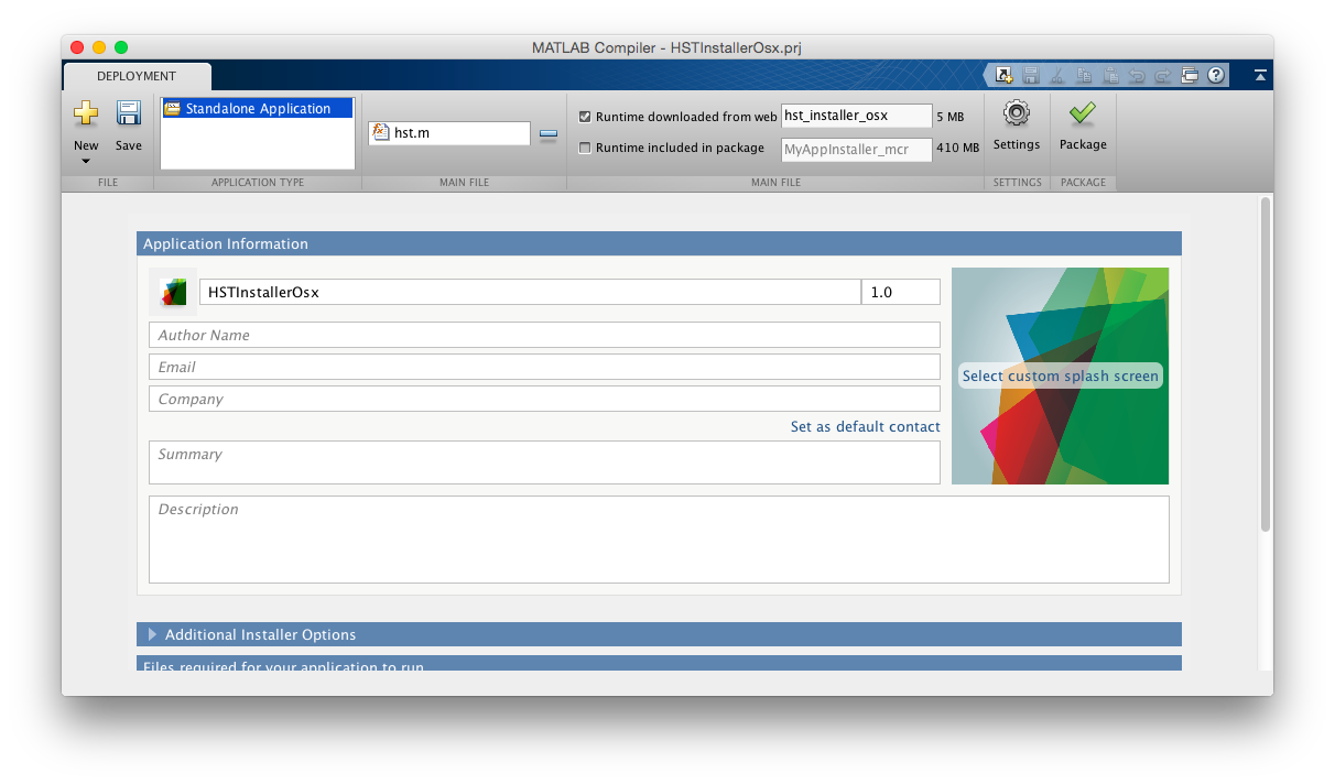 MATLAB Compiler on OS X | The Blog